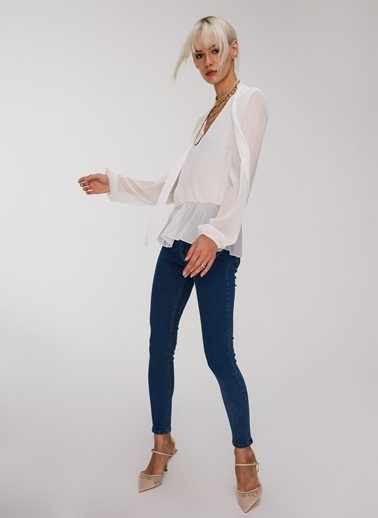 People By Fabrika Skinny Jean Mavi